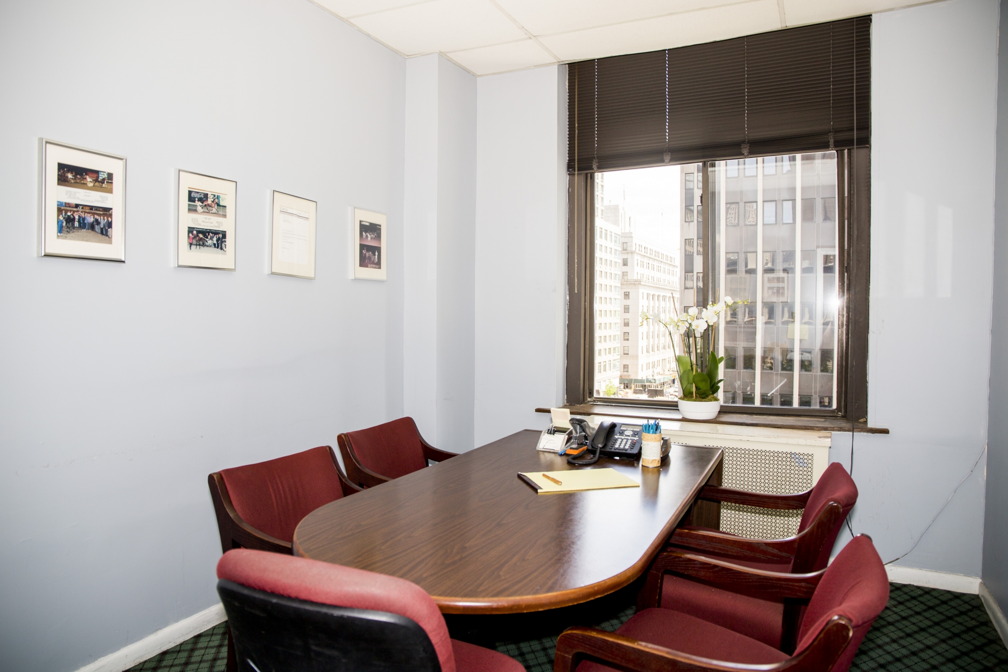 Conference Room at Reid B. Wissner Law Offices in New York City