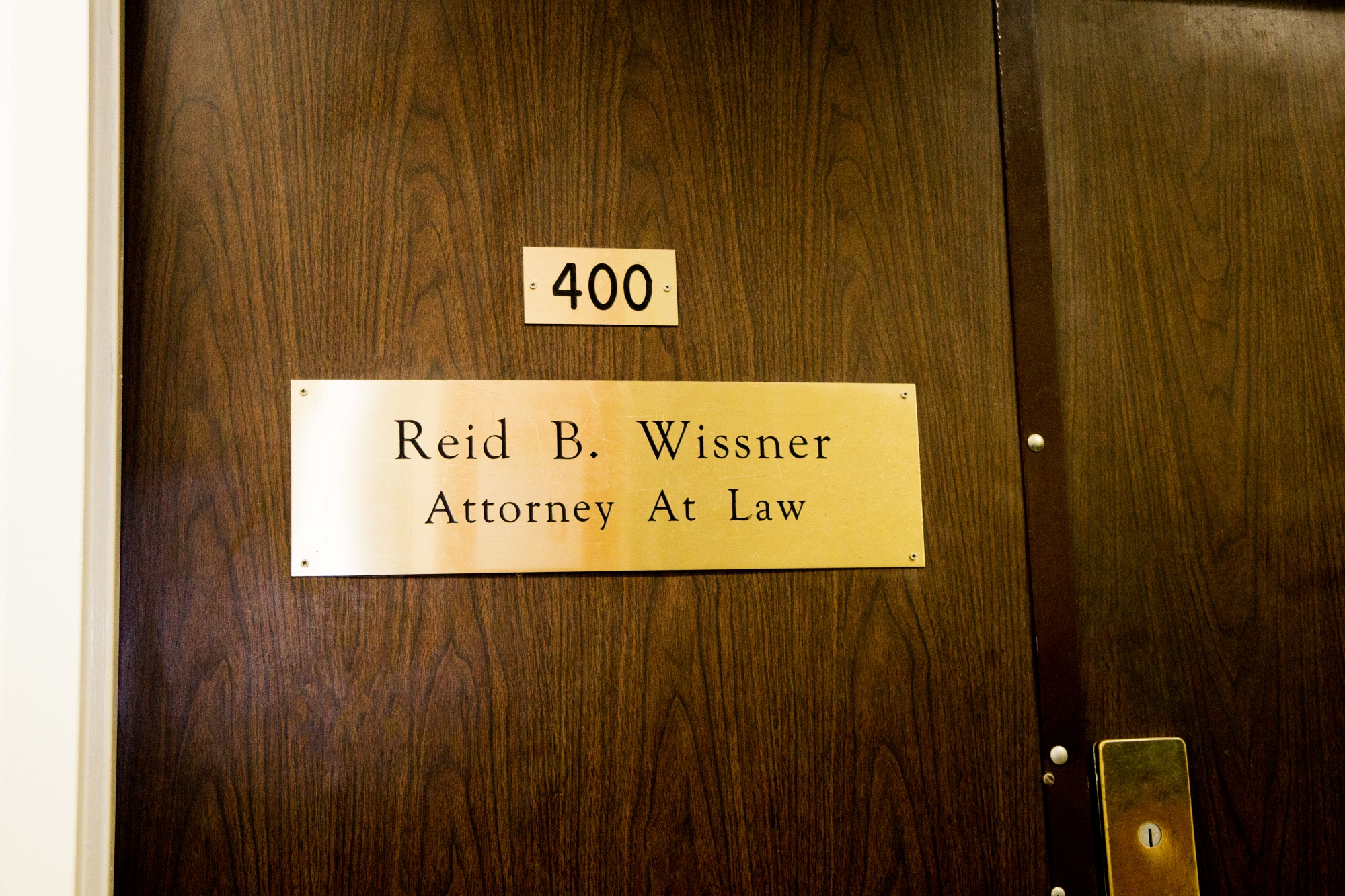 Reid B. Wissner Law Offices in Suite 400 at 325 Broadway in NYC