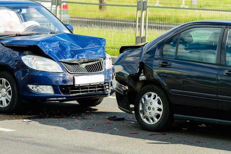 Even a minor rear end collision can result in whiplash | Reid B. Wissner Law Offices