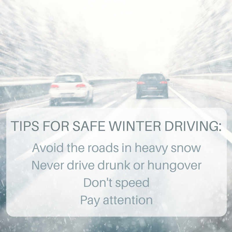 Avoid Car Accidents This Winter | NYC Car Crash Lawyer