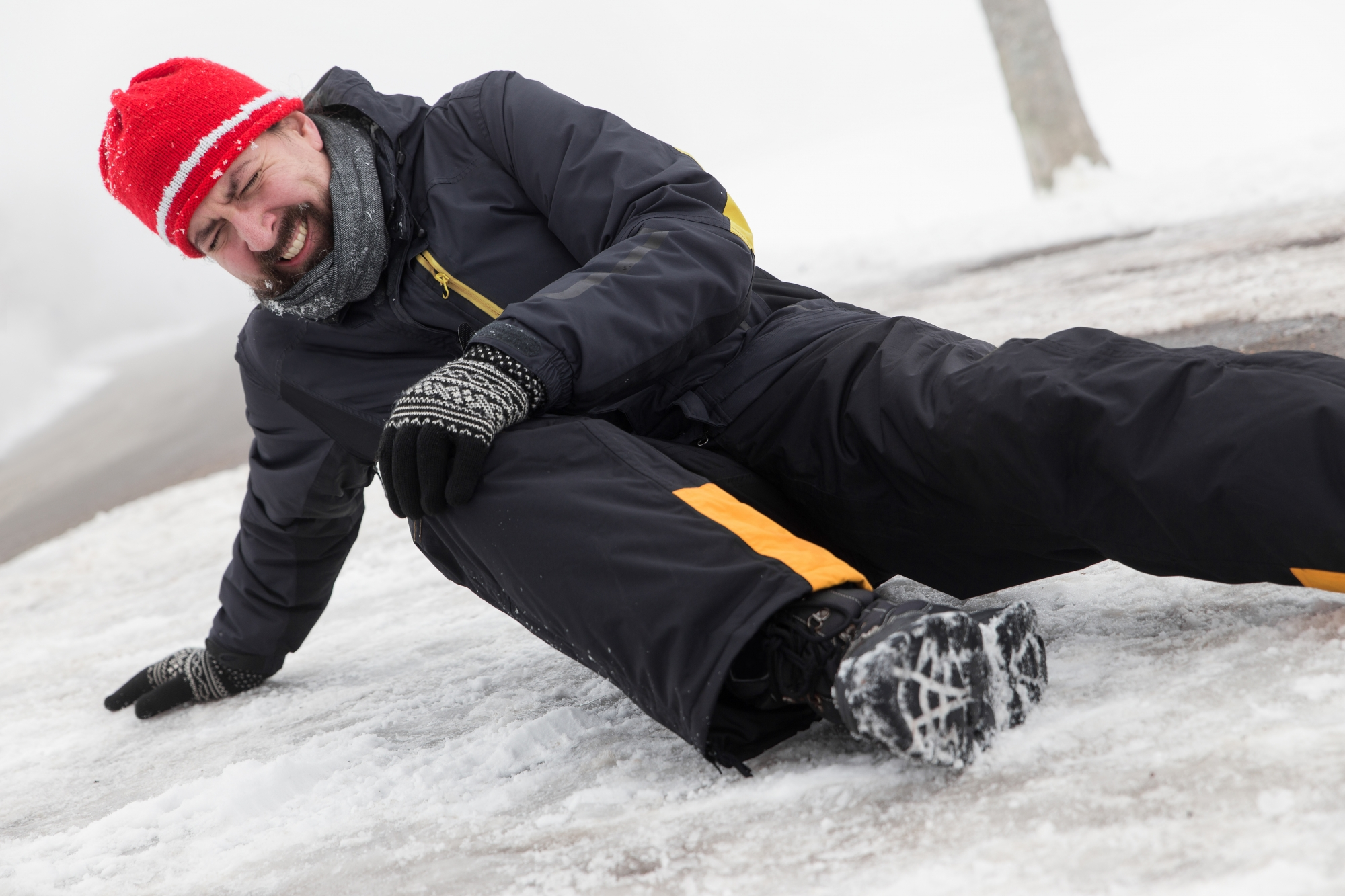 Slip and Fall Accident Attorney - Snowy, Icy Walks NYC