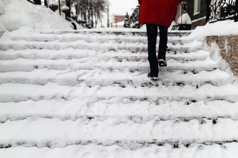 Get compensation for your slip and fall on ice in New York City