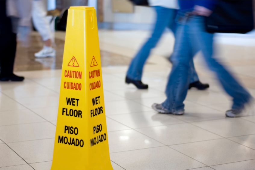 Slips, Trips and Falls - No Laughing Matter | Reid B. Wissner