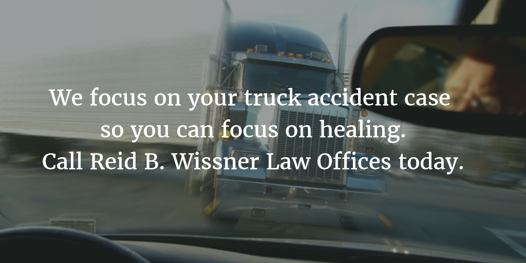How Truck Accident Attorney Reid B. Wissner Can Help | NYC